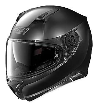 Nolan Unisex Adult N87 Flat Black Full Face Helmet N875270330102