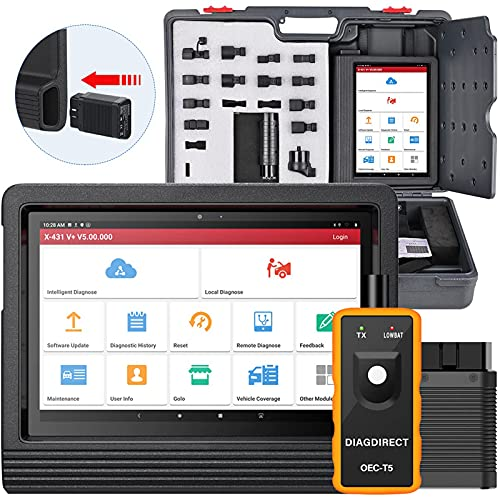 LAUNCH X431 V+ PRO 4.0 (Elite Upgrade of X431 PROS V4.0) Bi-Directional Scanner,31+ Reset Odometer Writer AutoAuth for FCA SGW,ECU Coding Variant Coding OE-Level All System Diagnostic Free Update