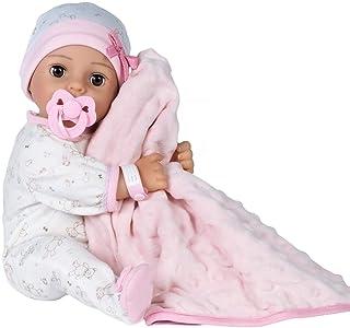 Adora Adoption Baby Cherish - 16 inch newborn doll, with accessories and Certificate of Adoption