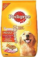 Pedigree Adult Dry Dog Food, Meat & Vegetables, 20kg Pack