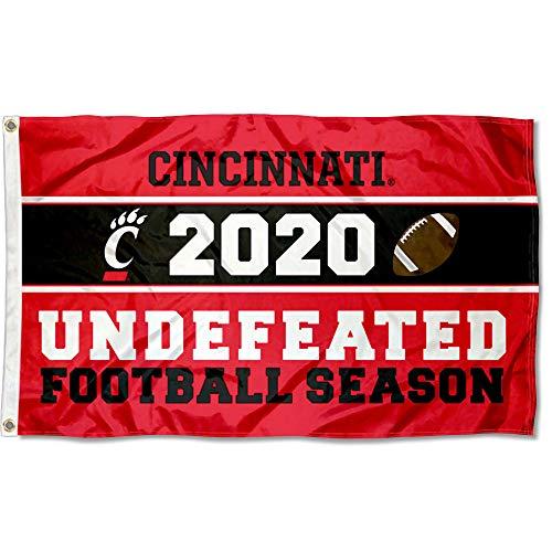 College Flags & Banners Co. Cincinnati Bearcats Undefeated Football Season Flag
