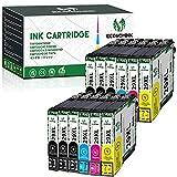 EconomInk - Cartucho de tinta compatible con Epson 29 XL 29XL (B, C, M, Y) para usar con Epson Expression Home XP-235 XP-247 XP-255 XP-335 XP-342 XP-345 XP-352
