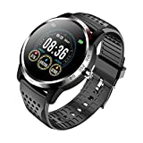 NiceFuse Smartwatch Orologio Fitness Tracker con Monitoraggio Dell'ossigeno Nel Sangue Spo2, Impermeabile Cardiofrequenzimetro da Polso Sonno Contapassi Pedometro per Android iOS