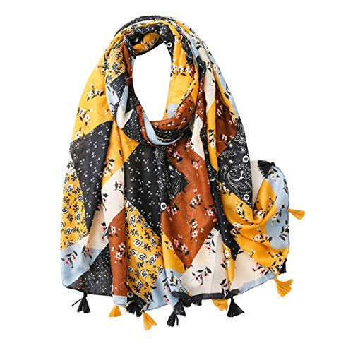 Vellette Mujer Bufandas Estolas y Fulares Largo Ligero