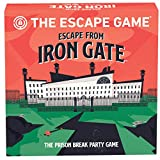 The Escape Game: Escape from Iron Gate - The Puzzle Completing, Drawing, Acting and Trading Prison Break Party Game by Pressman, Multi Color