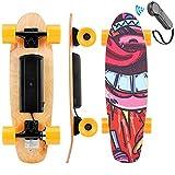 WOOKRAYS Elektrisches Skateboard, Elektro Skateboard mit Fernbedienung, 350W Motor,...