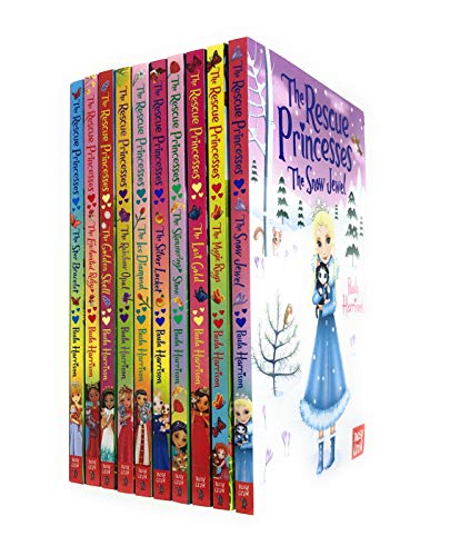 The Rescue Princesses 10 Books Collection Set By Paula Harrison (Snow Jewel,Magic Rings,Lost Gold, Shimmering Stone,Silver Locket,Ice Diamond,Rainbow Opal,Golden Shell, Enchanted Ruby,Star Bracelet)