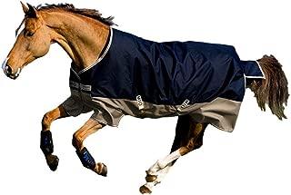 Horseware Amigo Blankets Mio Lite Turnout Sheet 78 Navy/Tan