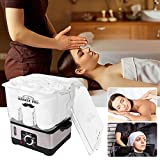 Calentador de toallas, Barber Shop Premium Calentador de toallas para el hogar...
