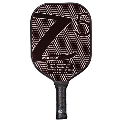 Onix Composite Z5 Pickleball Paddle, Black