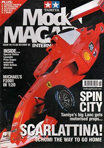 Tamiya model magazine International 94 oct-nov 2002 Michael's F2001 in 1:20