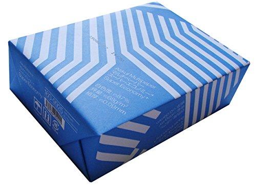 コピー用紙 マルチペーパー スーパーエコノミー+ A6 1冊 500枚 アスクル