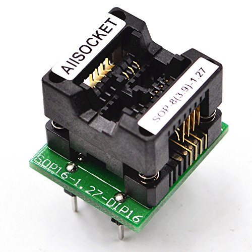 20x SOP8 SO8 SOIC8 TSSOP8 MSOP8 0.65mm 1.27mm to DIP8 2.54mm Adapter PCB Board