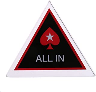 Fityle Crystal Dealer Button Chip Pokerstars Pressing Hold'em Poker Guard Triangle