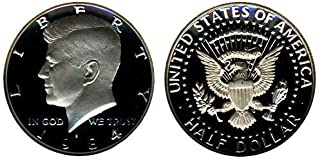 1984 S US MInt Deep Cameo Kennedy Proof Half DCAM