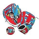 Franklin Sports Ryan's World Teeball Glove + Ball Set - Kids First Baseball Glove - Soft Toy Mitt + Foam Ball Set for Toddlers - Right Hand Throw - 8.5'
