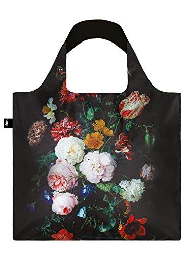 LOQI DE HEEM Still Life with Flowers, c.1650-83 Bag - Einkaufstasche