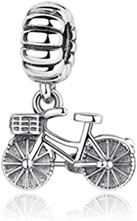 Bicycle Bike Charm Love Sports Charms Fit Pandora Charms Bracelets