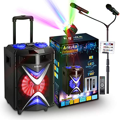 Ankuka Portable Bluetooth Karaoke Machine
