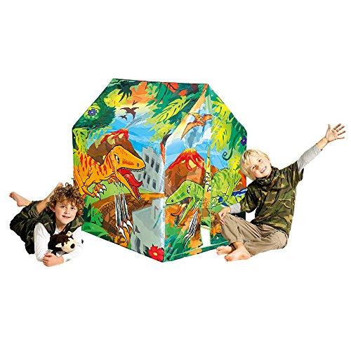 Dinosaurier Spielhaus für Kinder Dino Zelt Indoor Haus Dinos