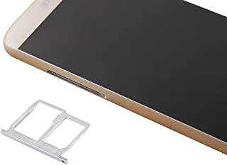 機器コンポーネントを交換してください LG G5 / H868 / H860 / F700 / LS992 SIMカードトレイ+マイクロSD/SIMカードトレイアクセサリのためのIPartsBuy (Color : Silver)