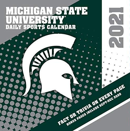 TURNER Sports Michigan State Spartans 2021 Box Calendar (21998051389)