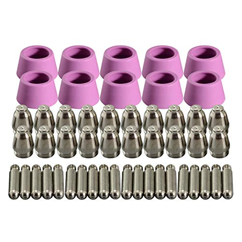 AG-60 SG-55 WSD-60 Plasma Electrode Tip Nozzle 1.2mm 60Amp Fit CUT-60 LGK-60 Plasma Cutter 50pcs
