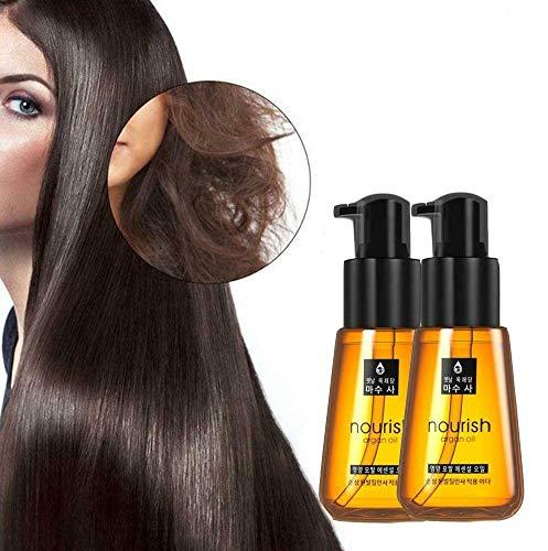 (2 Pièces) Super Curl Defining Booster, Split Hair Treatment Liquide Essentiel, Définit Et Desserre Les Boucles Tout En Nourrissant Et En Renforçant Les Cheveux