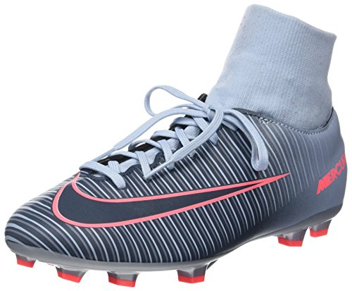 Nike Jr Mercurial Victory VI DF FG Kid's Firm Ground Soccer Cleats (2.5 Little Kid M)