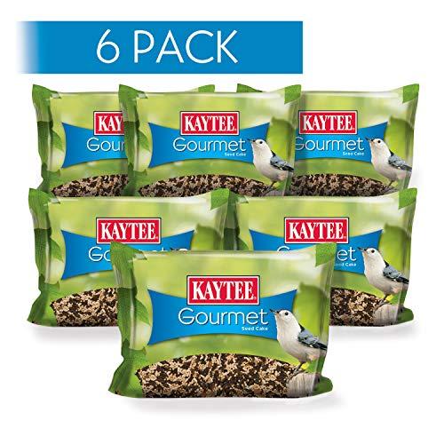 Kaytee Gourmet Wild Bird Seed Cake, 6 Pack