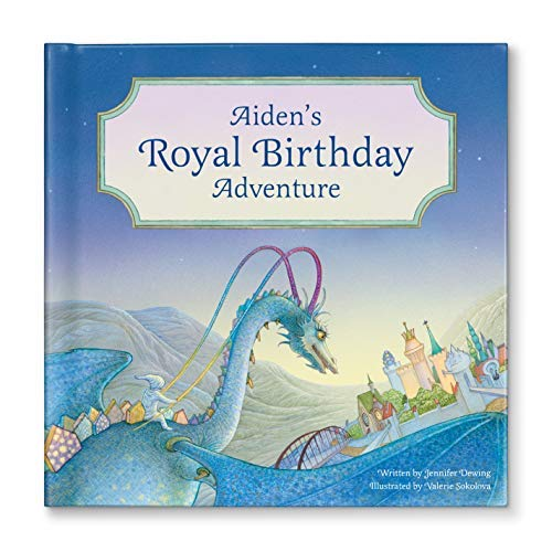 Royal Birthday Party, Personalized Birthday Gift for Boys Girls, Unique Gift for Kids, Dragon