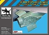 ブラックドッグ A72045 1/72 A-400 M アトラス 1 エンジン (レベル用)
