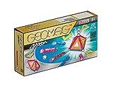 Geomag- Classic Glitter Construcciones magnéticas y juegos educativos, Multicolor, 22 piezas (530) , color/modelo surtido