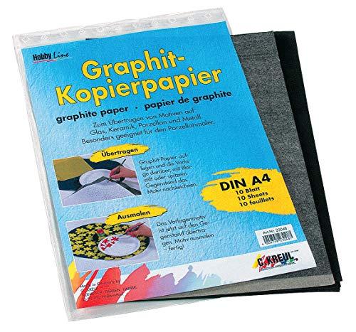 Graphitpapier 10 Bl, 21 x 30cm