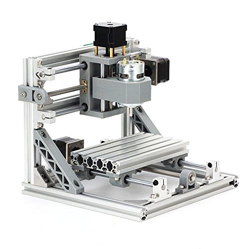 WUPYI2018 CNC 1610 Graviermaschine,3 Achsen Mini DIY Fräsmaschine GRBL Steuerrouter,Arbeitsbereich: 160x100x40mm