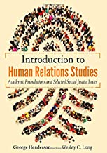 Introduction to Human Relations Studies: Academic Foundations and Selected Social Justice Issues