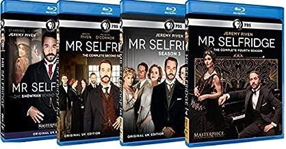 Masterpiece: Mr Selfridge - The Complete Series - Seasons 1,2,3 & 4 - Blu ray Collection Set