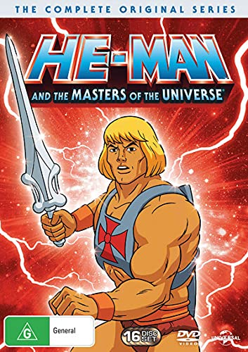 He-Man Masters Of The Universe - The Complete Series - 16 Disc (DVD)