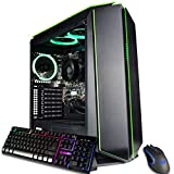 CUK Mantis Custom Gamer PC (AMD Ryzen 3 with Radeon Graphics, 16GB 3200MHz DDR4 RAM, 512GB NVMe SSD, 500W PSU, AC WiFi, No OS) Tower Gaming Desktop Computer