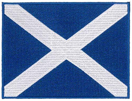 Klicnow Escocia Azul Parche 12cm x 9cm Aprox 43/4
