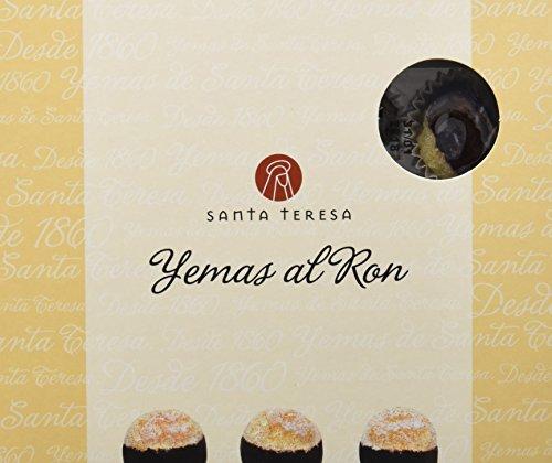 Santa Teresa Yemas con Ron - 3 Paquetes de 140 gr - Total: 420 gr