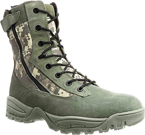 Mil-Tec Tactical Boots Two Zipper at-digital Gr. 12