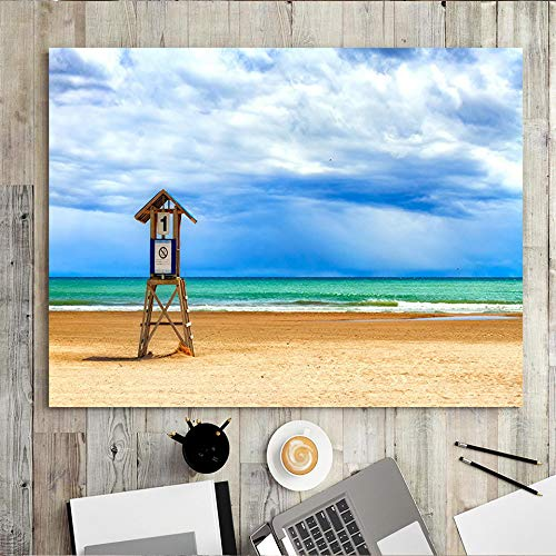 Home decor print canvas painting wall art painting oil painting painting surf beach living room seascape 50x60 Frameless
