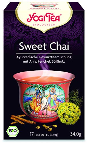 Yogi Tee Sweet CHAI - 17 Tee Beutel - Yogi Tea -