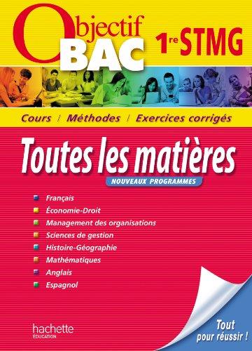 Objectif Bac 1ere STMG