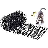 Kyrieval Pinchos Anti Gatos, tiras de espigas para animales de mascotas, repelente para disuasión(2 unidades)