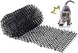 Kyrieval pinchos anti gatos, tiras de espigas para animales de mascotas, repelente para disuasión, 200*30cm