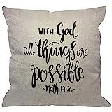 HGOD DESIGNS Bible Verse Throw Pillow...