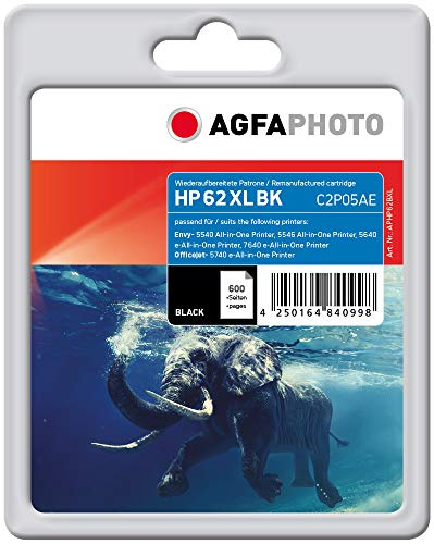 AgfaPhoto APHP62BXL Remanufactured Tintenpatronen Pack of 1