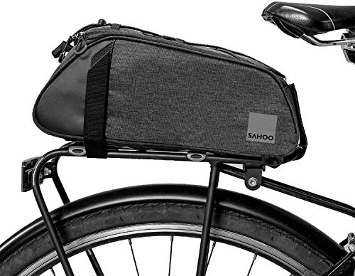 Roswheel Essentials Convertible Bike Trunk Bag Bicycle Rear Rack Pack Cycling Accessories Pannier